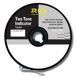 RIO PRODUCTS Rio 2-Tone Indicator Tippet - Black/White