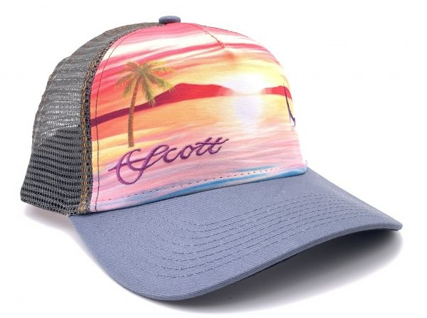 SCOTT FLY RODS Scott Fly Rods Women's Sunset Permit Tail Hat - Dark Grey