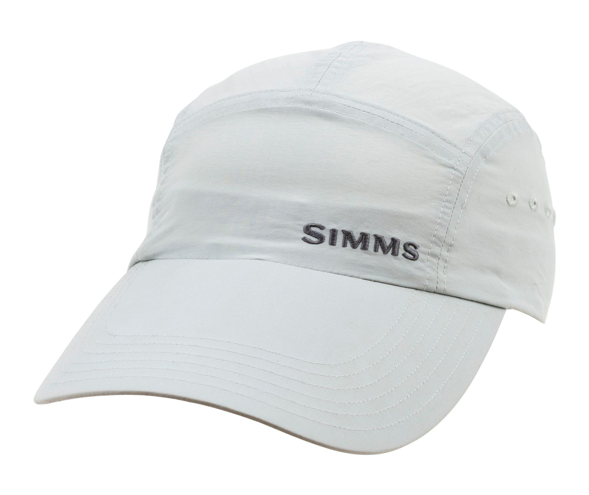 SIMMS Simms Superlight Long Bill Flats Cap - Sterling