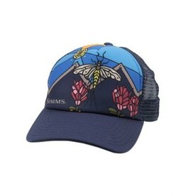 SIMMS Simms Small Fit Foam Mayfly Trucker - Admiral Blue
