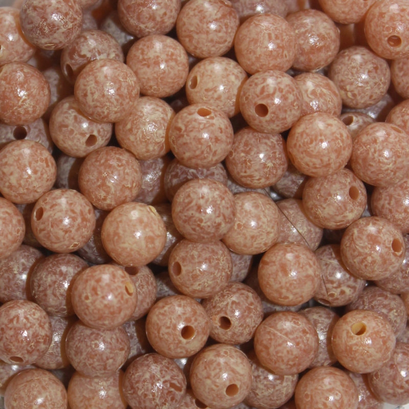 Mottled Troutbeads - 6Mm - 40 Pack