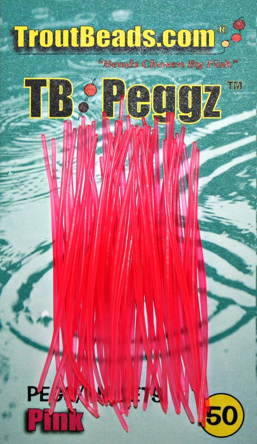 Troutbeads Peggz - 50 Pack