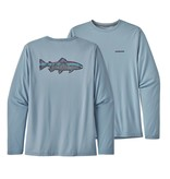 PATAGONIA Patagonia Mens Ls Capilene Cool Daily Fish Graphic Shirt