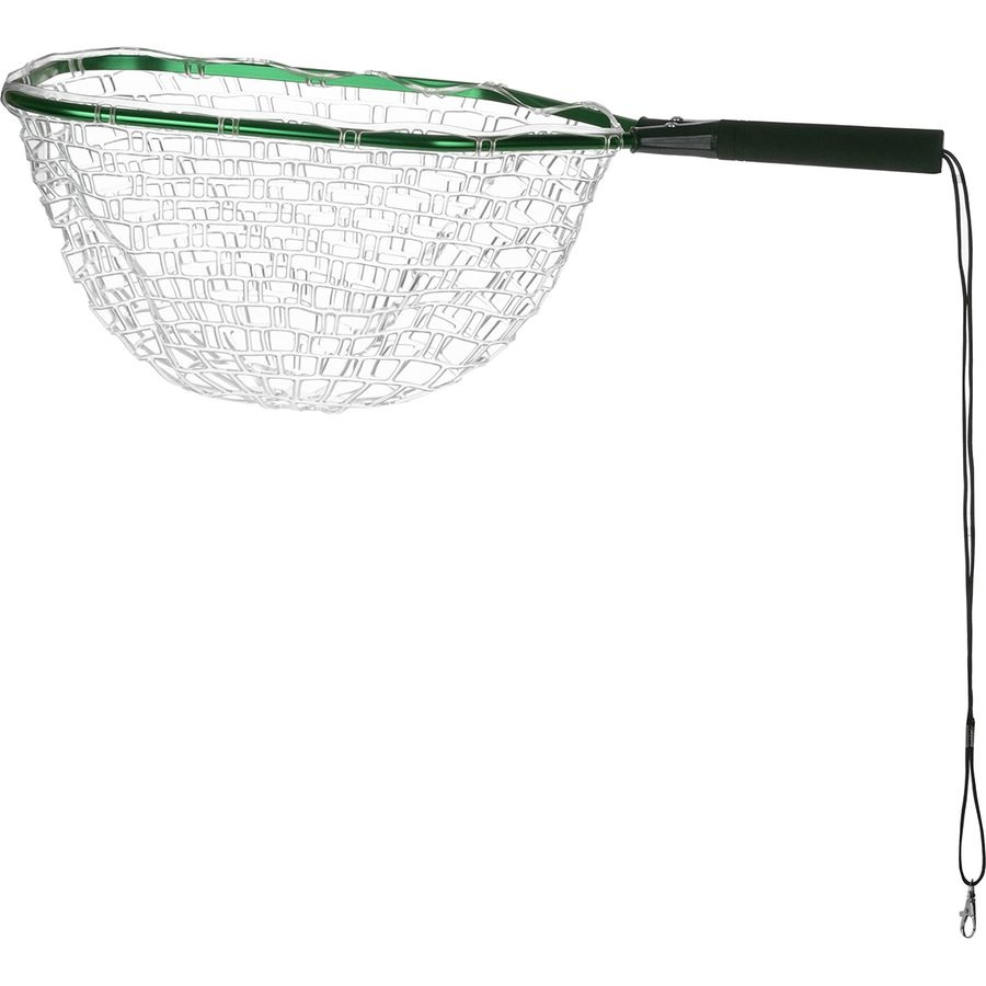 Angler's Accessories Metal Invisible Tear Drop Net