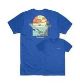 SIMMS Simms Underwood Ocean T-Shirt - Royal Heather