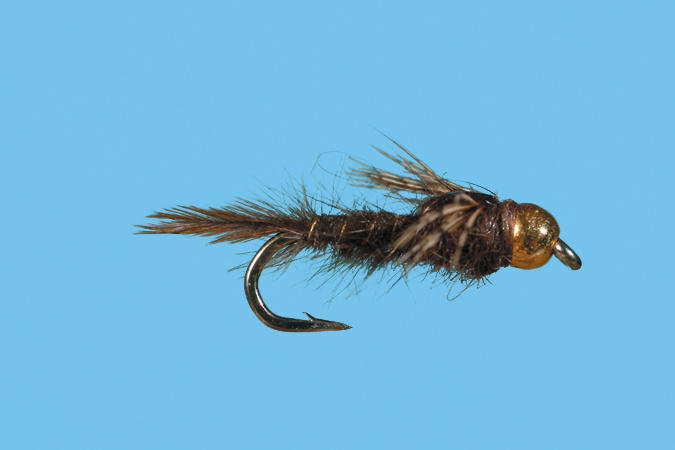 Bead Head Gilled Nymph - Brown
