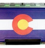 MONTANA FLY MFC Waterproof Fly Box - Medium - Colorado State Flag