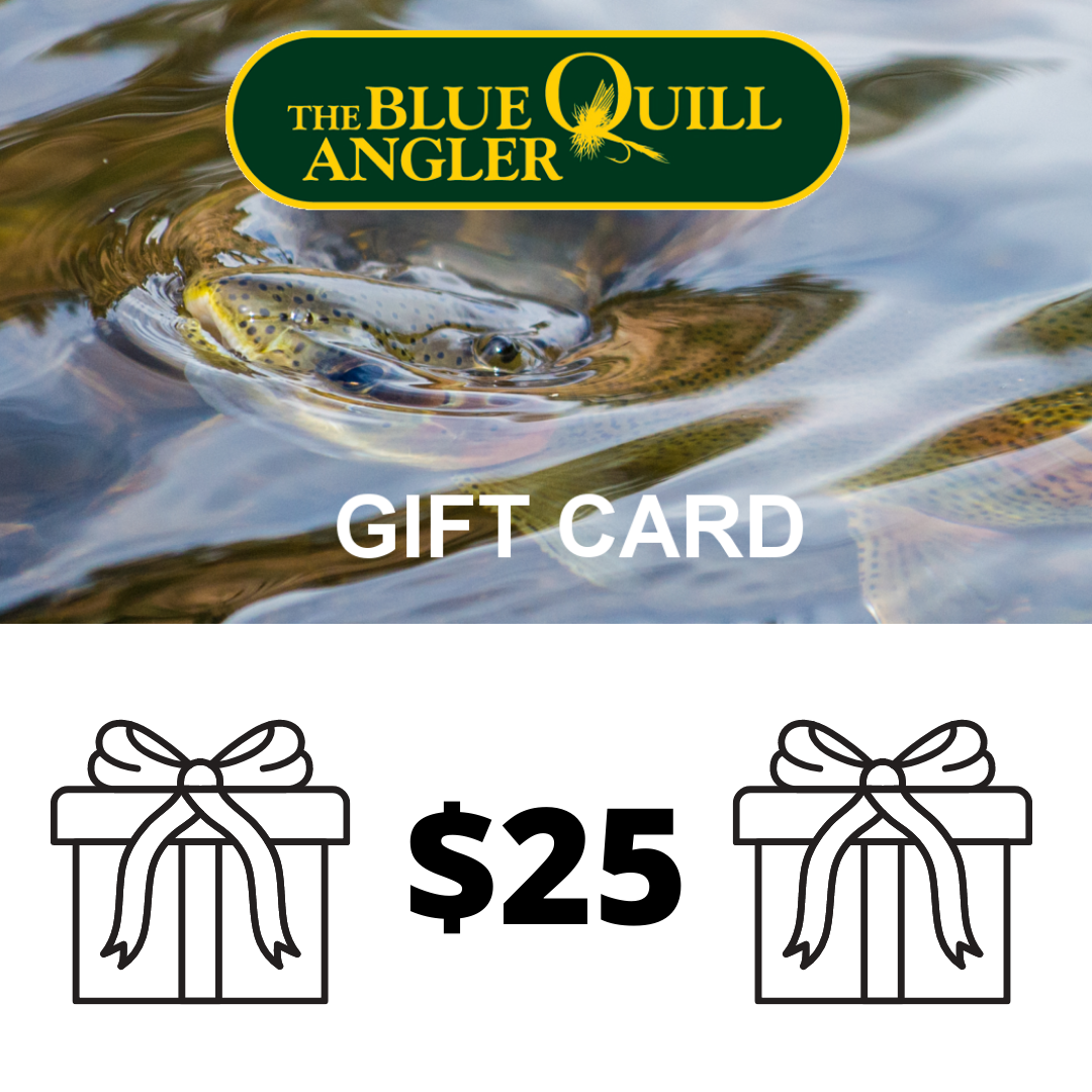 BLUE QUILL ANGLER Retail Gift Cards $25