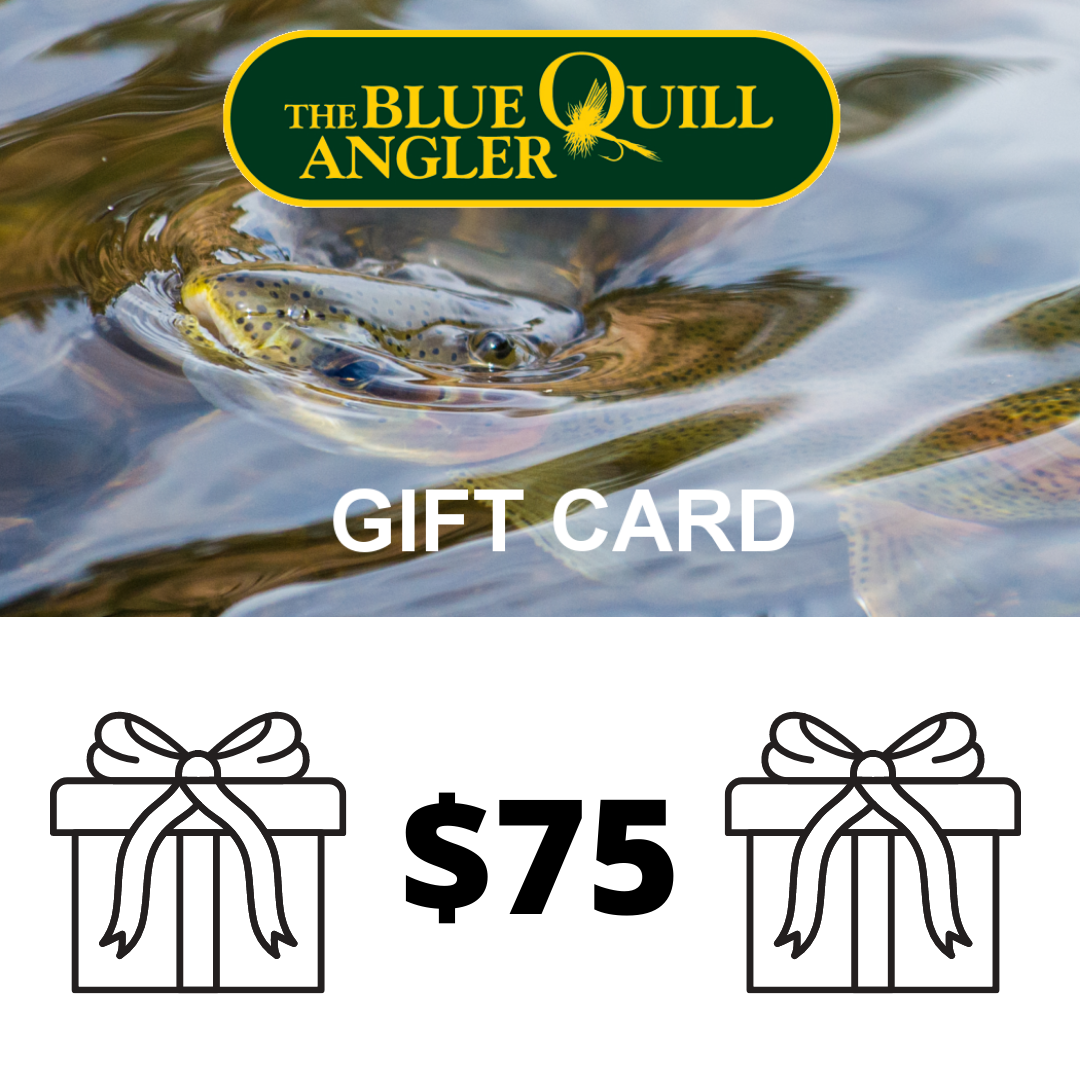 BLUE QUILL ANGLER Retail Gift Cards $75