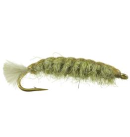 UMPQUA Barr's Cranefly Larva - Olive