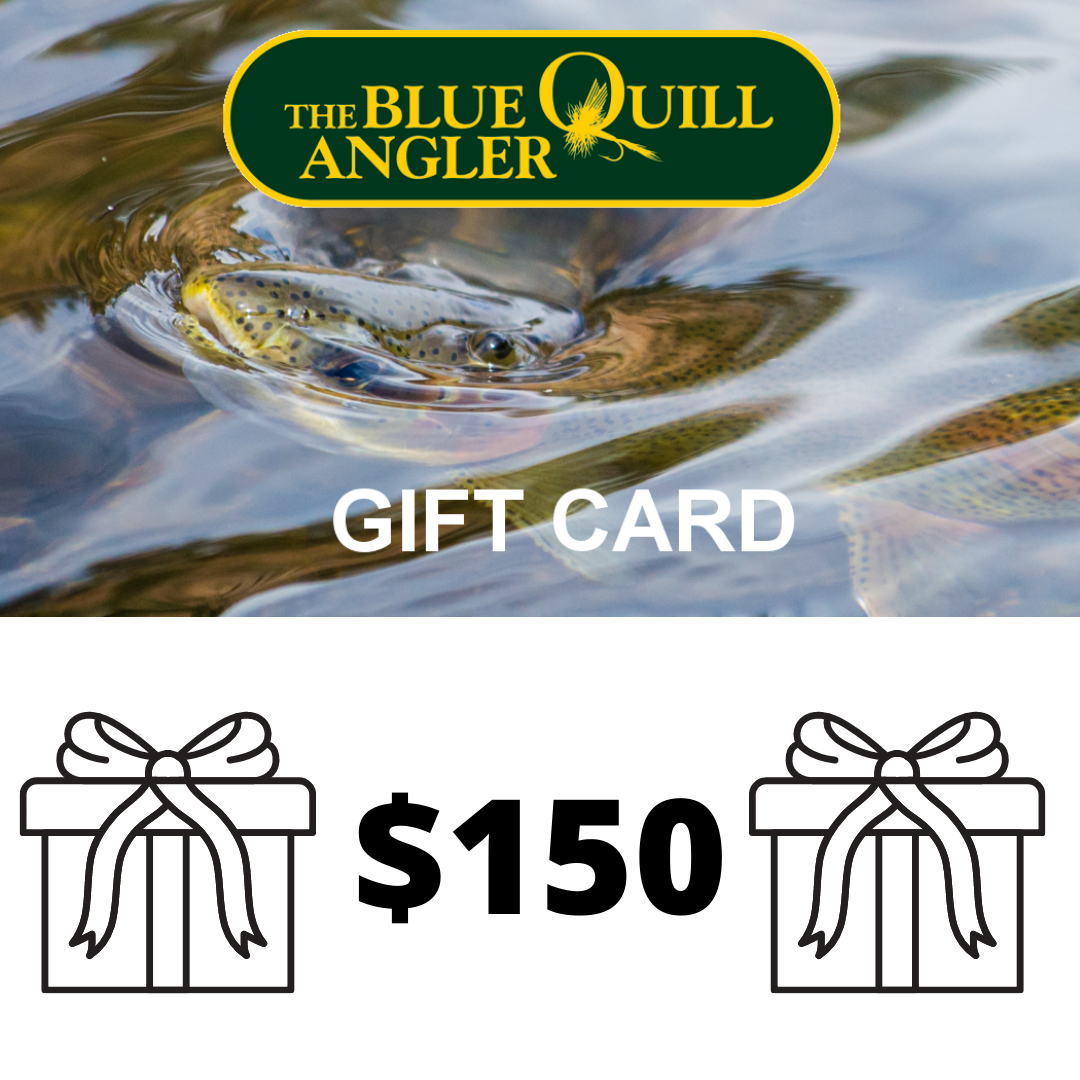 BLUE QUILL ANGLER Retail Gift Cards $150