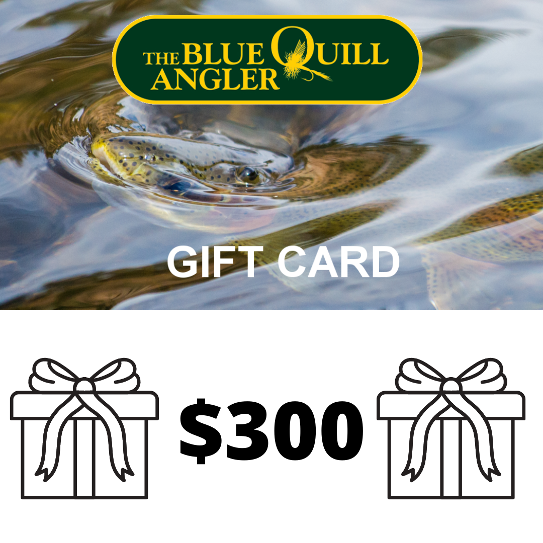BLUE QUILL ANGLER Retail Gift Cards $300