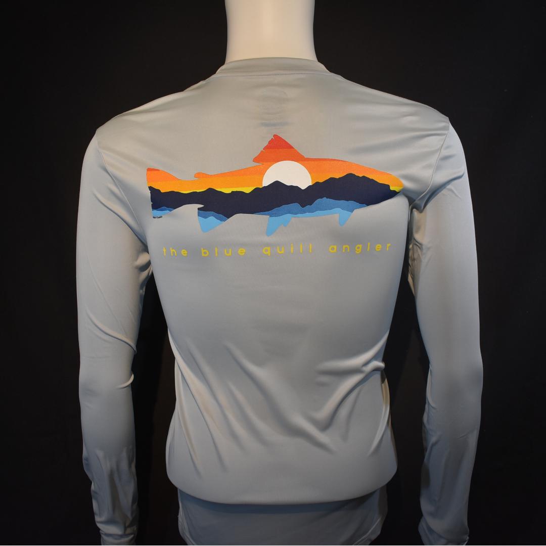 BLUE QUILL ANGLER BQA LS Sun Shirt - Mountain Trout