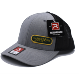 BLUE QUILL ANGLER BQA Logo FlexFit Trucker (R-110) - Small Woven Patch