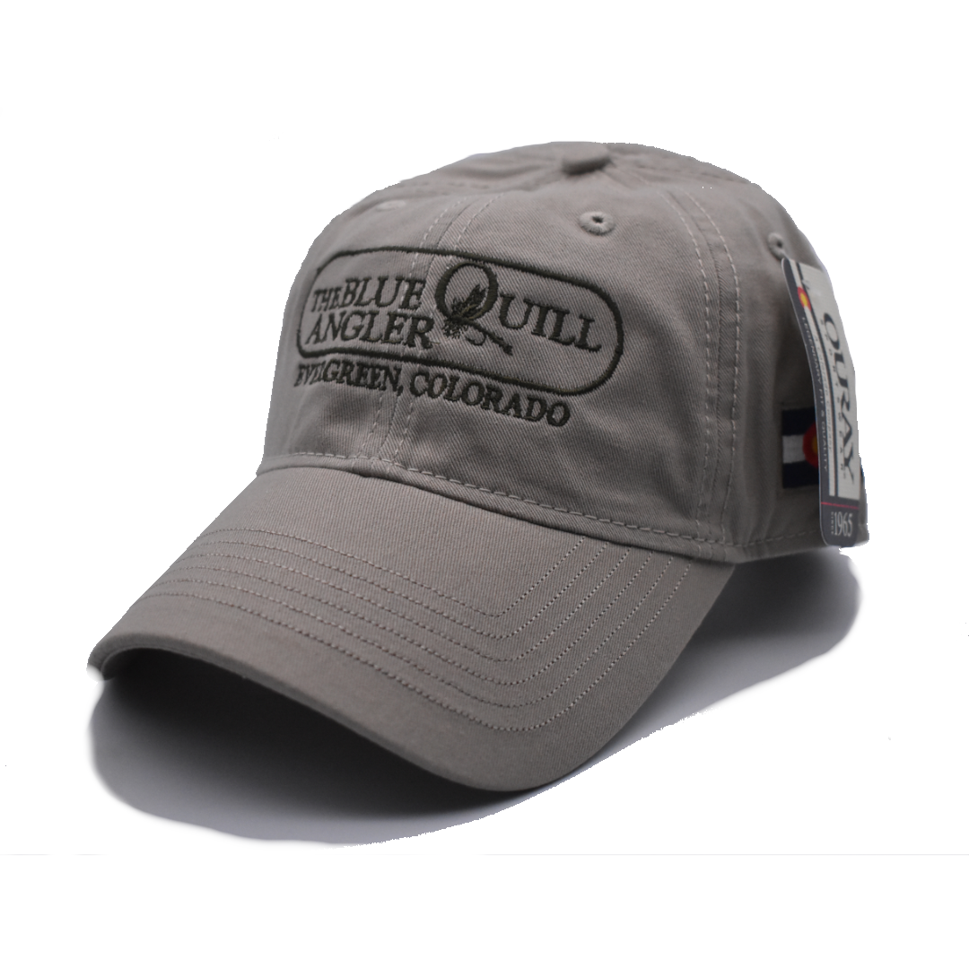 BLUE QUILL ANGLER BQA Logo Epic Washed Twill Hat