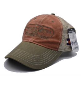 BLUE QUILL ANGLER Legend Vintage Washed Trucker Cap