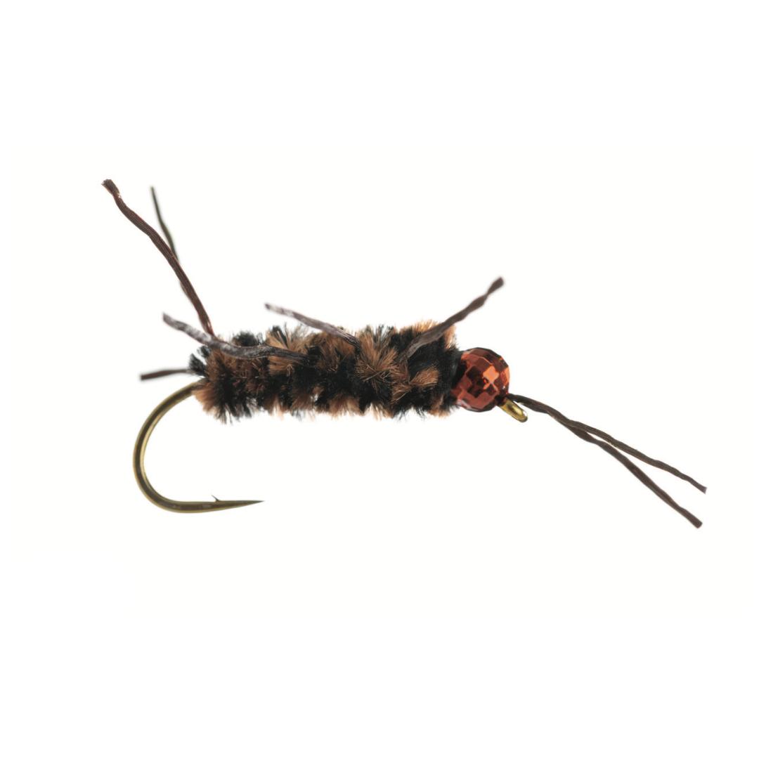 UMPQUA Pat's Rubber Leg Jig - Tungsten - Coffee/Black