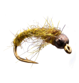 UMPQUA Electric Caddis Pupa - Tungsten