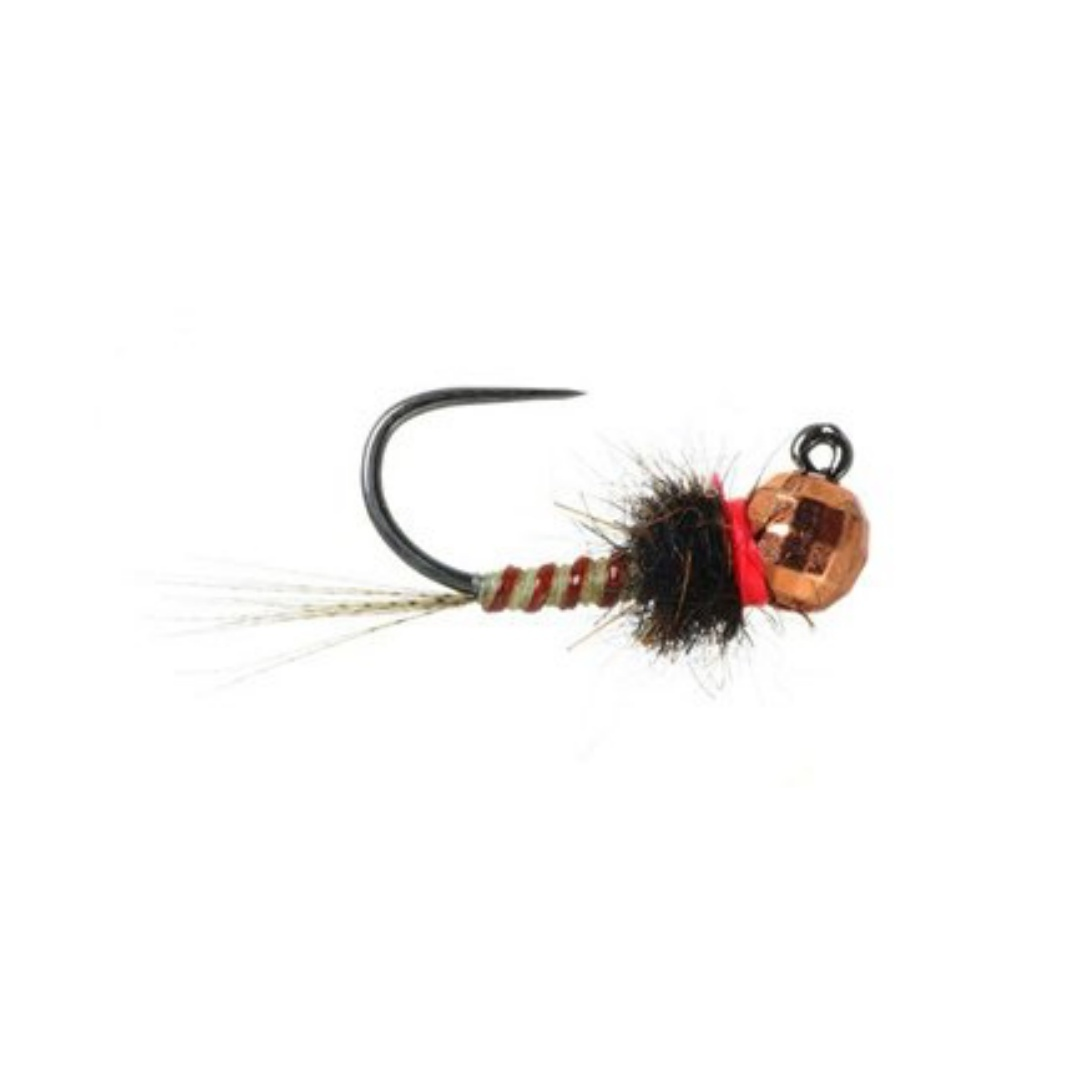UMPQUA Parrott's Euro Jig Nymph - Pale Yellow/Brown