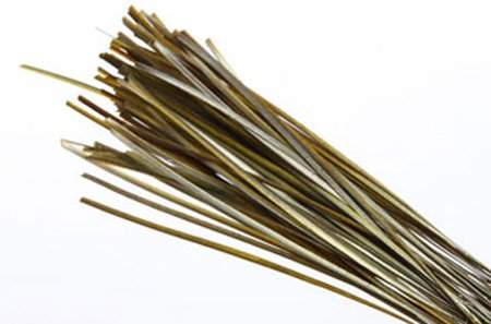NATURES SPIRIT POLISH STRIPPED PEACOCK QUILLS - 25 PER BAG