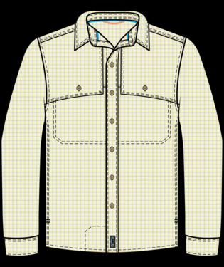 PATAGONIA Patagonia Men's LS Island Hopper Shirt