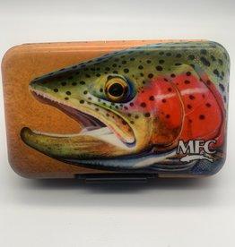 MONTANA FLY MFC Poly Fly Box - Hallock's Rainbow Trout