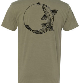SAGE Sage Chase Tee - Trout Light Olive