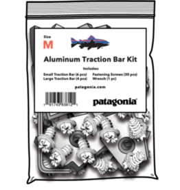 PATAGONIA PATAGONIA FOOT TRACTOR ALUMINUM BAR REPLACEMENT KIT - DANNER