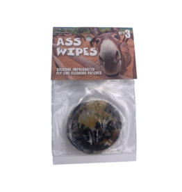 Ass Wipes Fly Line Cleaning Patches