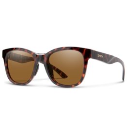SMITH OPTICS SMITH CAPER MATTE TORTOISE / CHROMAPOP POLARIZED BROWN