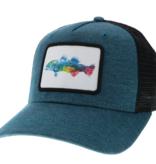 Color Fish Marine Blue/Black Roadie Trucker