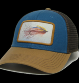 Streamer Color Fly Marine Blue/Camel Brown Mid Pro Trucker