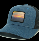 Colorado Sunset Marine Blue/Black Roadie Trucker