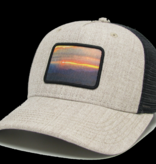 Colorado Sunset Heather Tan/Black Roadie Trucker