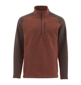 SIMMS SIMMS RIVERSHED SWEATER QUARTER ZIP - ON SALE