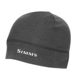 SIMMS LIGHTWEIGHT WOOL LINER BEANIE Carbon One Size