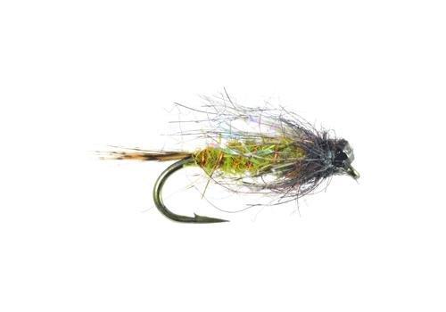 UMPQUA DIRTY BIRD - TUNGSTEN - PER 3