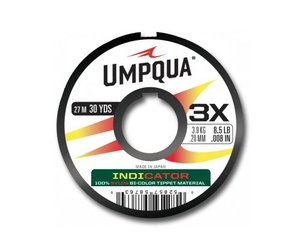 "PINK // FL UMPQUA 2 PACK BI-COLOR INDICATOR COILS 6/"" INCH 13 LB IN FL YELLOW"