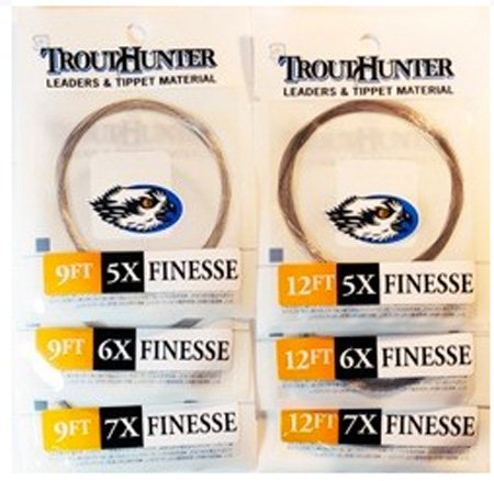 TROUTHUNTER TROUTHUNTER FINESSE LEADER - 12 FOOT