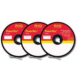 RIO PRODUCTS Rio Powerflex Tippet 3 Pack - 4-6X
