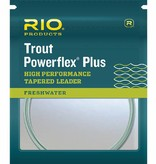 RIO PRODUCTS RIO POWERFLEX PLUS TROUT LEADER - 2 PACK