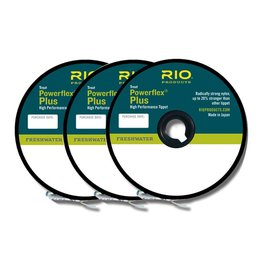RIO PRODUCTS Rio Powerflex Plus Tippet 3 Pack 4X-5X-6X