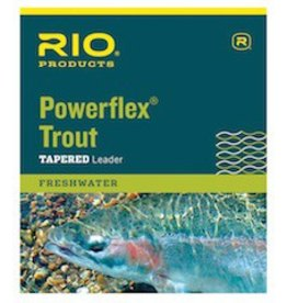 RIO PRODUCTS RIO 7 1/2' POWERFLEX KNOTLESS LEADER-3 PACK