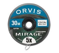 ORVIS ORVIS MIRAGE FLUOROCARBON TIPPET - 30 METERS