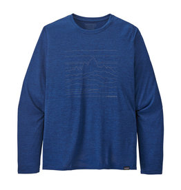 PATAGONIA Men's Long-Sleeved Capilene® Cool Daily Graphic Shirt