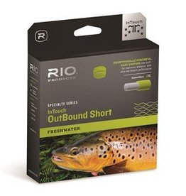 RIO PRODUCTS RIO IN-TOUCH FRESHWATER OUTBOUND SHORT WF9F - ON SALE!!