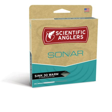 SCIENTIFIC ANGLERS SCIENTIFIC ANGLERS SONAR SINK 30 WARMWATER SINK TIP
