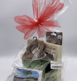The River Chill Gift Bag  (w/Brown Flask)