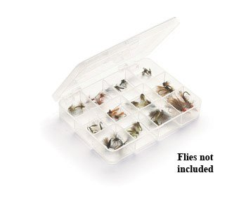 UMPQUA Myran 1120 - 12 Compartment - Clear Fly Box