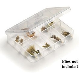 UMPQUA Myran 1080 - 8 Compartment - Clear - Fly Box